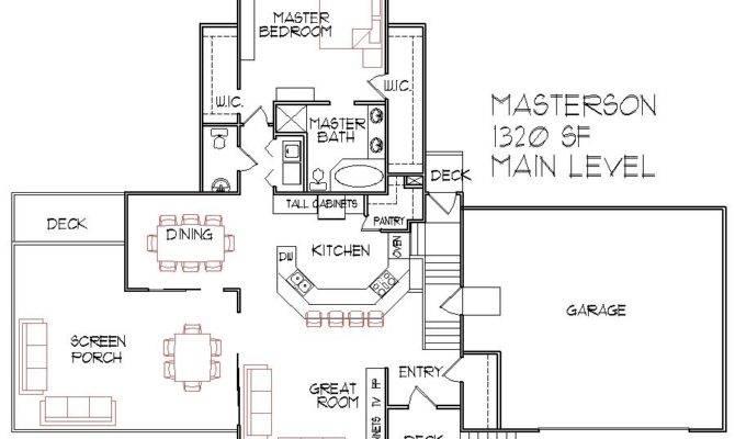 Split Level Floor Plan House Plans Designs