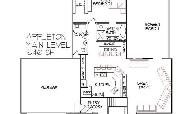 Split Level House Floor Plan Bedroom Des Moines Iowa Master