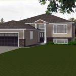Split Level House Plans Attached Garage Escortsea