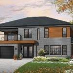 Split Level House Plans Attached Garage Week Dhp