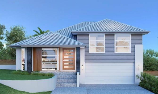Split Level House Plans Porches