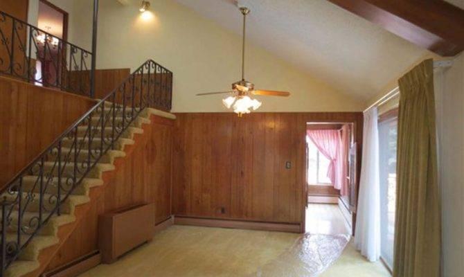 Split Level Living Room Retro