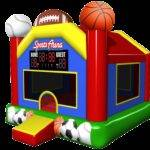 Sports Arena Inflatable Bounce House Sale