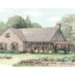 Spring Hill Farm Ranch Home Plan House Plans More