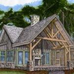Sqft Bathrooms Bedrooms Cottage Plans Streamline Timberframe