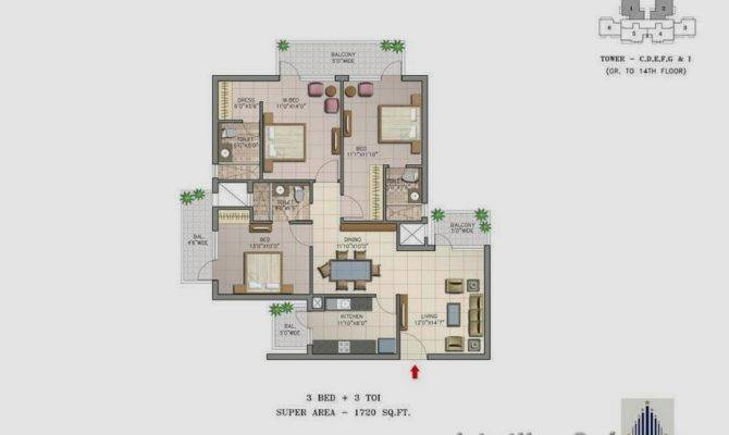 Sqft Bhk House Plan Toilets Latest Home Designs