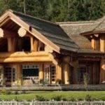 Sqft Log Home Cabin Floor Plans Pioneer