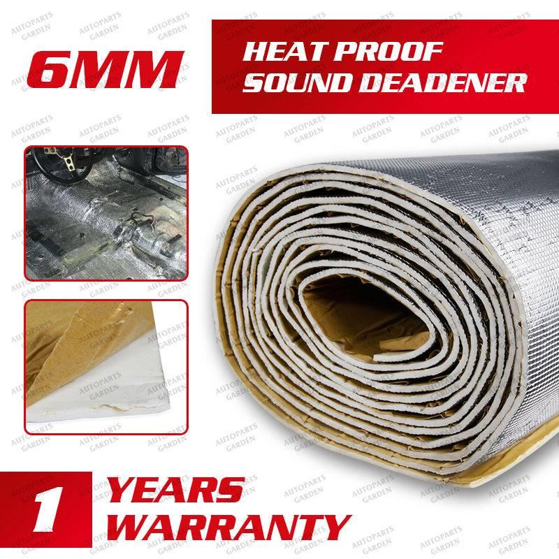 Sqft Mil Noise Heat Proof Auto Sound Deadener Mat