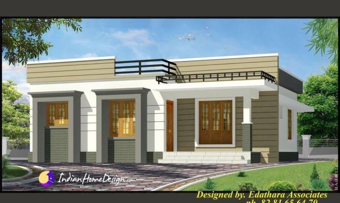 Sqft Modern Single Floor Kerala Home Design Indian
