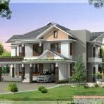 Sqft Ultra Modern House Elevation