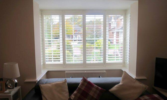 Square Bay Window Shutters Fitted Lymington Shuttersouth