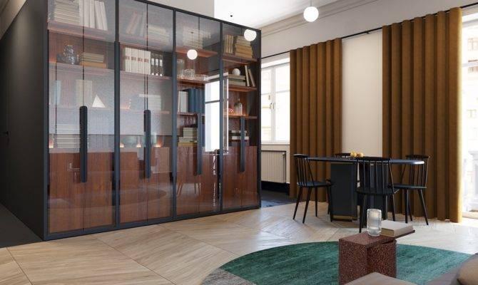 Square Feet Apartment Design Wonderful Maximalist