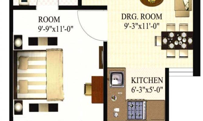 Square Feet Apartment Floor Plan Bedroom Apartments