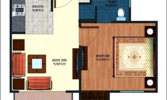Square Feet Apartment Floor Plan Home