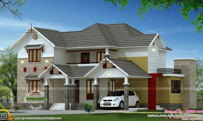 Square Feet Bedroom Home Kerala Design