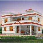 Square Feet Bhk House Elevation Design Home Kerala Plans
