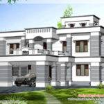 Square Feet Colonial Style Home Design Kerala House Idea