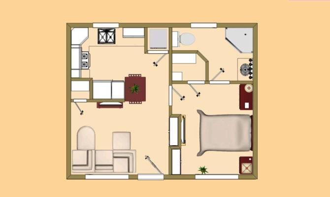 Square Feet Floor Plan Small House