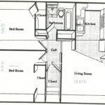 Square Feet House Plans Apartment Floor Plan