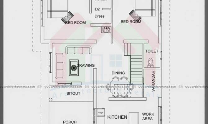 Square Feet House Plans Kerala Floor
