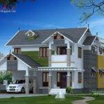 Square Feet Kerala Home Elevation Architecture