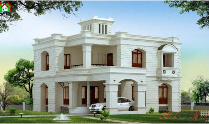 Square Feet Kerala House Elevation Architecture