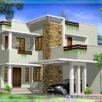 Square Feet Modern House Elevation Kerala Home