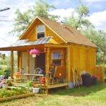 Square Feet Nder Build Our Own Solar Cabin