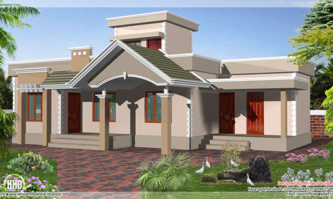 Square Feet One Floor Budget House Indian Plans