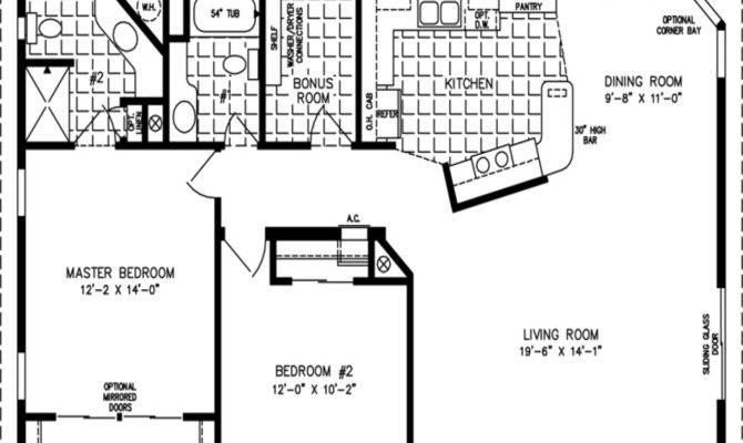 Square Feet Open Floor Plans