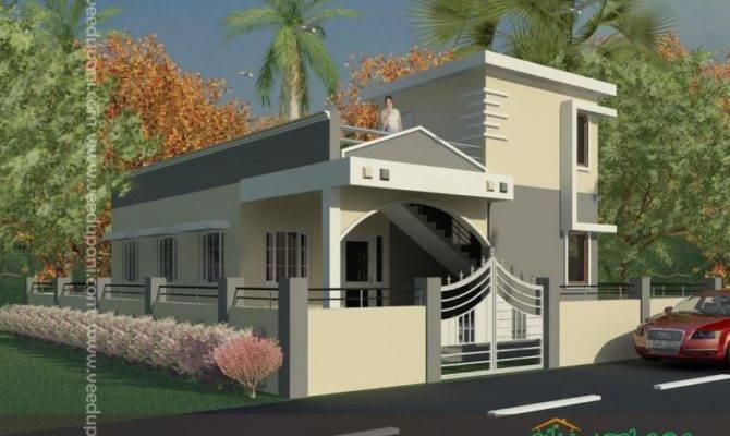 Square Feet Small Bedroom Kerala Home Design Elevation
