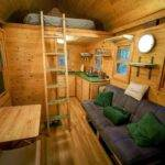 Square Feet Tiny House Giant Journey Trip Squre