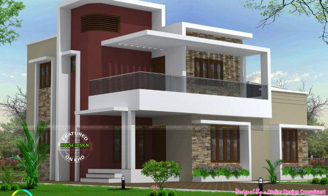 Square Foot Bhk Home Kerala Design Floor