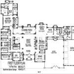 Square Foot House Floor Plans Large Six Bedroom