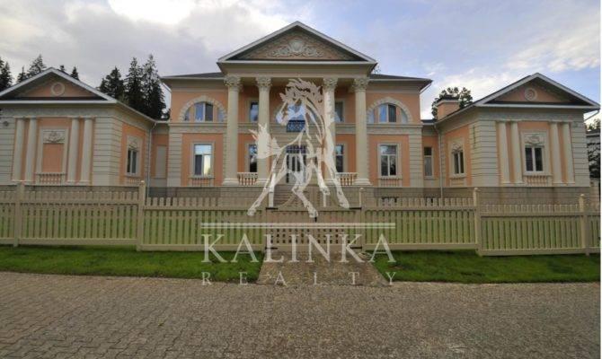 Square Foot Neoclassical Mansion Nikolino Russia Homes