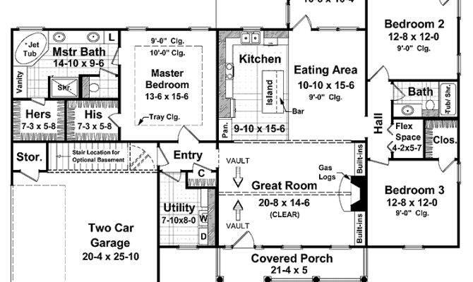 Square Foot Ranch House Plans Smalltowndjs