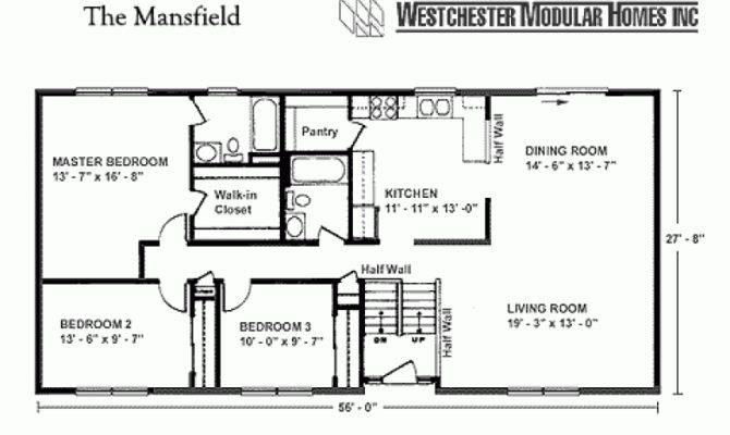Square Foot Ranch House Plans
