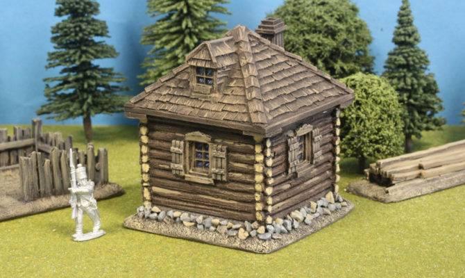 Square Log Cabin Shingle Dormer Roof