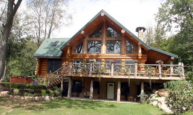 Square Log Home Designs Find House Plans