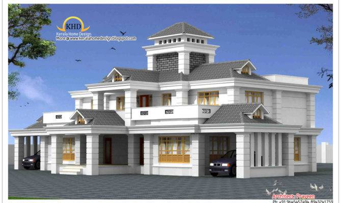 Square Meter Frt Luxury Home Design Elevation October