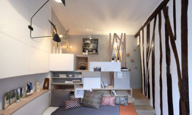 Square Meter Room Transformed Into Mini Studio