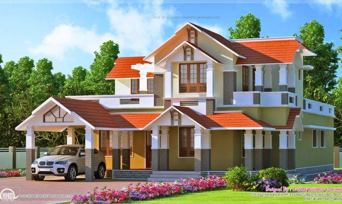 Square Meter Yard New Home Elevation Designed Cube