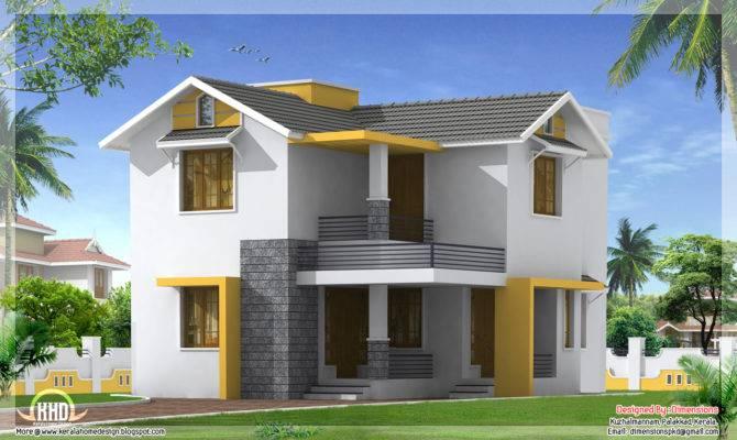 Square Meter Yards Simple Kerala Home Design