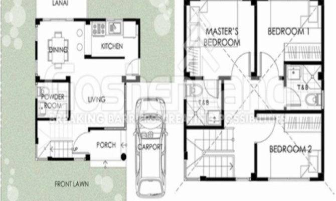 Square Meters Feet House Design Plans