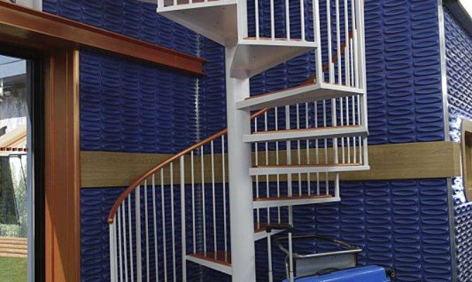 Staircase Upstairs Level Big Brother House