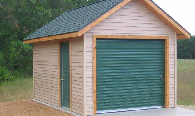 Standard Construction Features Small Garages
