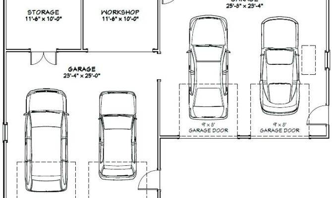 Standard Garage Sizes Car Designs