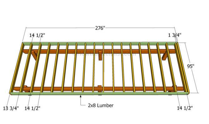 Standing Deck Plans House Lighting Furnitures