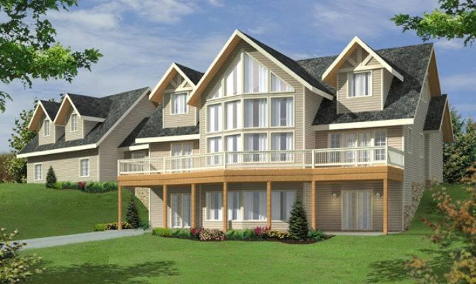 Stansbury Lake Waterfront Home Plan House