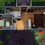 Starter Homes Floor Plans Simple House Designs Sims Storey